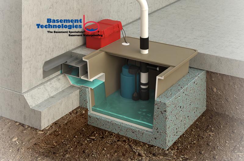 Water Grabber Bulldog to fix leaking basements
